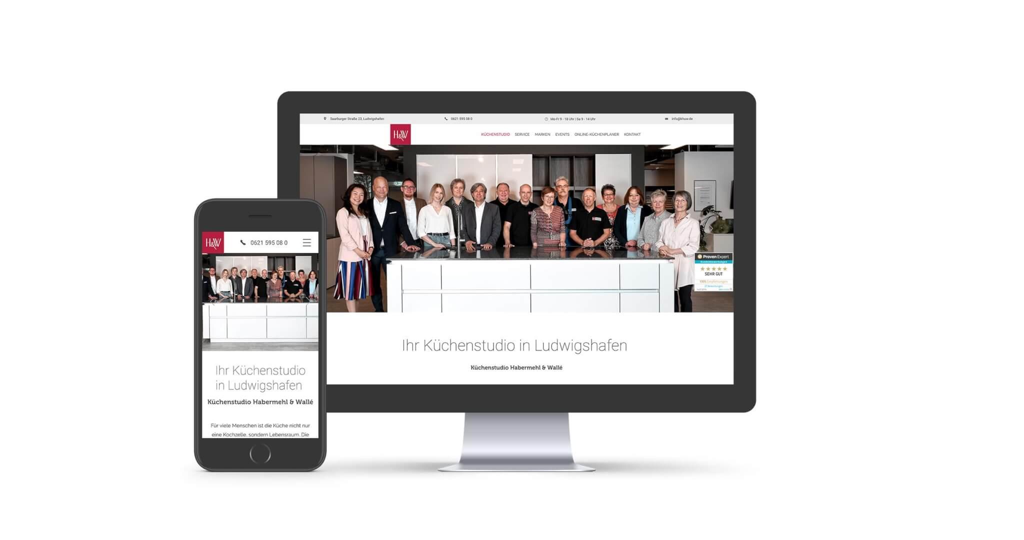 Websdesign Küchenstudio