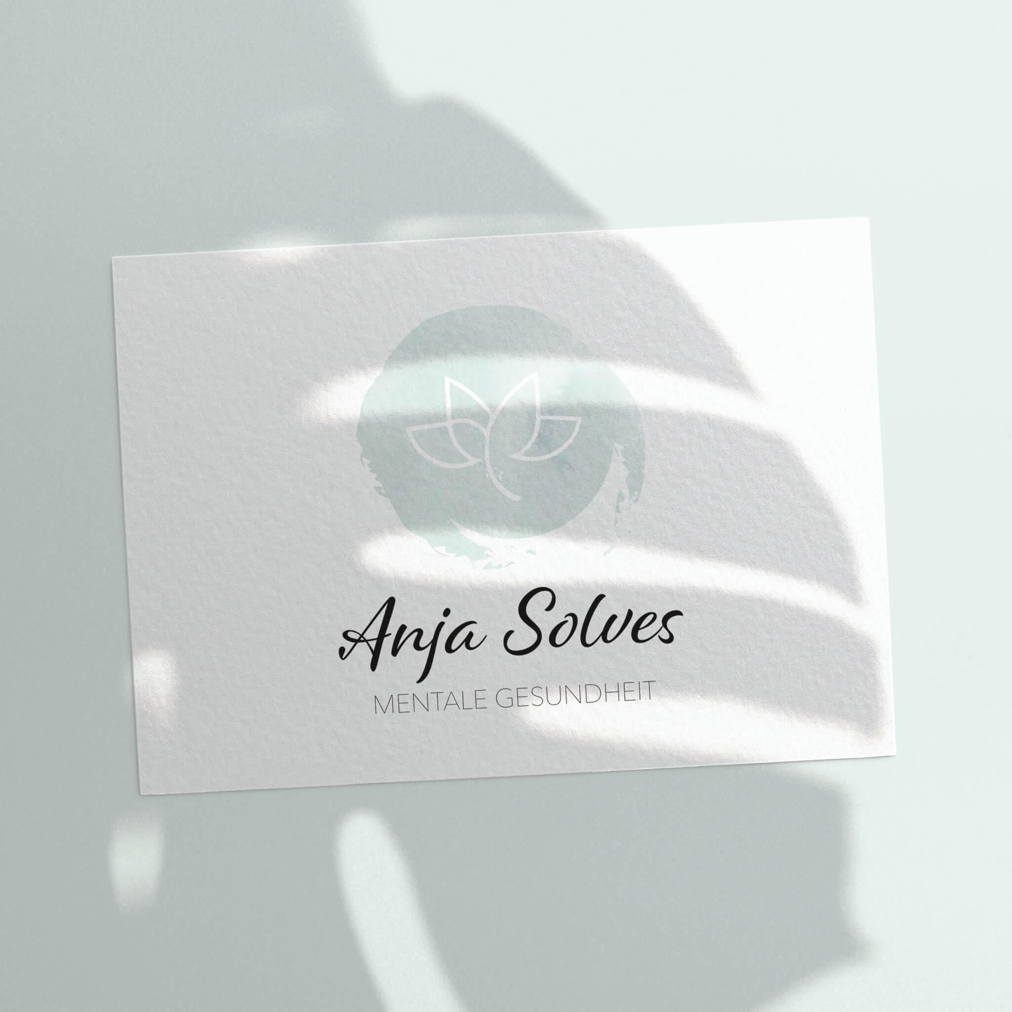 Logodesign Anja Solves