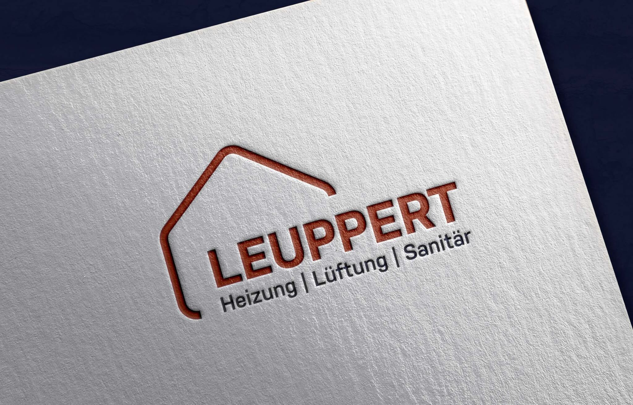 Logodesign Leuppert